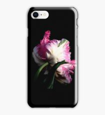 The Parrot Tulip An Artwork From Nature  iPhone Case/Skin