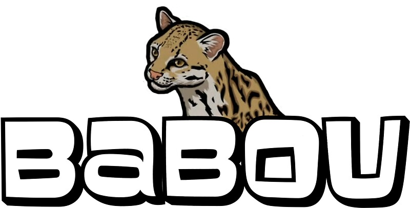 Archer babou ocelot stickers redbubble for Babou decoration