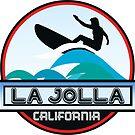 Surfing LA JOLLA California Surf Surfboard Waves Ocean Beach Vacation by MyHandmadeSigns