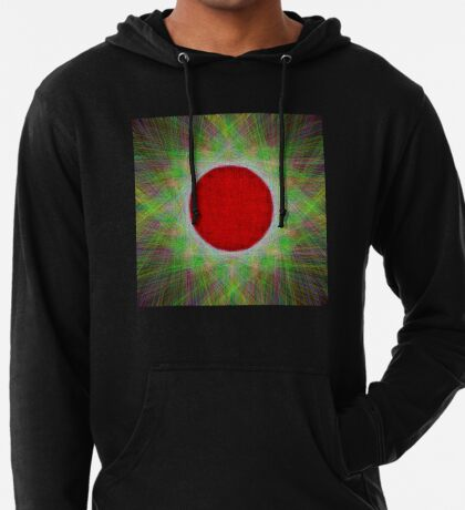 Red Button Planet Lightweight Hoodie