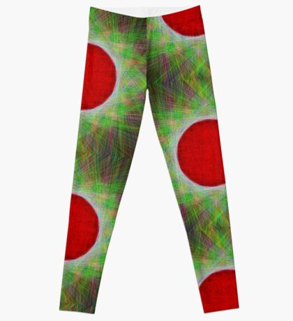 Red Button Planet Leggings