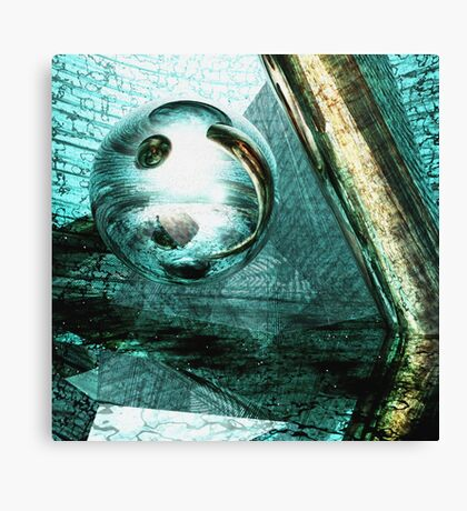 Shudder Before the Beautiful Canvas Print