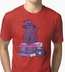Feline Familiar Tri-blend T-Shirt