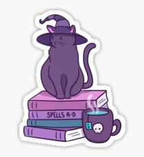 Feline Familiar Sticker
