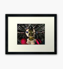 ANDROID XENIA SPACESHIP PILOT  / Sci -Fi Framed Print