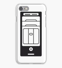 computers computer pc tower housing iPhone Case/Skin