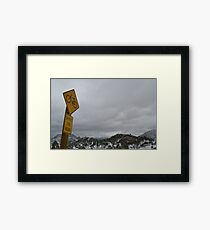 Share the road  =) Framed Print