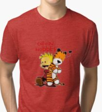 Calvin And doll hobbes Tri-blend T-Shirt