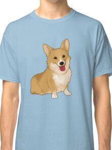 Cute smiling corgi Classic T-Shirt