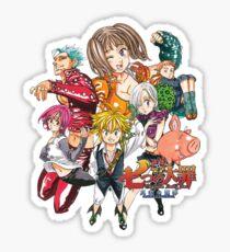 Nanatsu no Taizai v3 Sticker