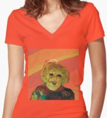 Ty Segall T-Shirt Women's Fitted V-Neck T-Shirt