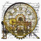 Vintage Time Machine #1B by Steve Crompton