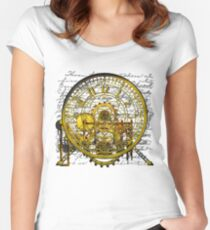 Vintage Time Machine #1B Women's Fitted Scoop T-Shirt