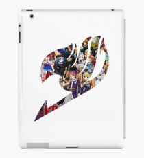 Fairy Tail GMG Characters Logo iPad Case/Skin