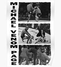 Michael Venom Page Poster