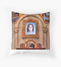 The Enchanted Library Throw Pillow