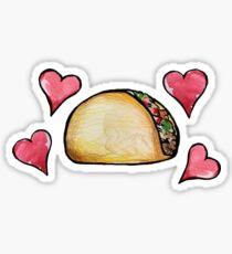 Taco lover Sticker