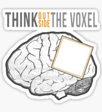 Think Outside the Voxel Sticker