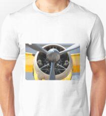 Bristol Mercury XX(X) 870 hp engine and propeller of Army Co-operation single engine Westland Lysander III aircraft. Unisex T-Shirt