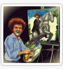 Steve Brule paints Sticker