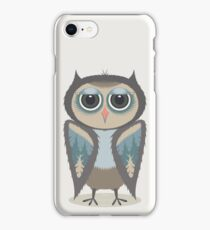 FEATHERED OWL iPhone Case/Skin
