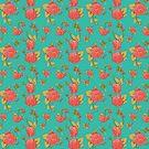 Bees & Roses by Kara Brauen