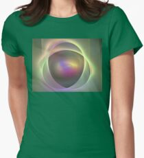Droplet Womens Fitted T-Shirt