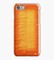 Cherry Burst On Flamed Maple iPhone Case/Skin