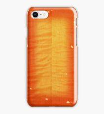 Cherry Burst On Flamed Maple iPhone Case/Skin