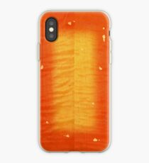 Cherry Burst On Flamed Maple iPhone Case