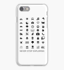 Travel Icon iPhone Case/Skin