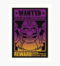 Wanted 02 Art Print