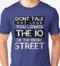 Sherlock - Don't Talk Out Loud... T-Shirt