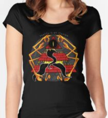 Reality is an Illusion Women's Fitted Scoop T-Shirt