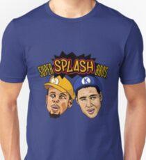 Steph Curry Klay Thompson Super Splash Bros Slim Fit T-Shirt