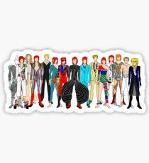 Group Bowie Fashion Sticker