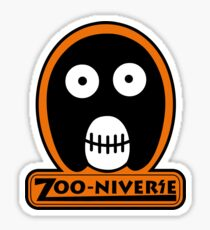 The Mighty Boosh Zooniverse Patch Sticker
