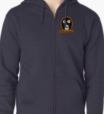 The Mighty Boosh Zooniverse Patch Zipped Hoodie