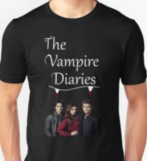 TVD - The Vampire Diaries - Elena, Damon and Stefan - (Designs4You) T-Shirt