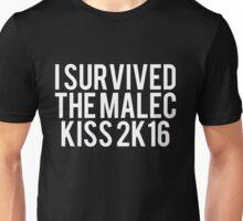 I Survived Malec Kiss Unisex T-Shirt