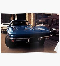 Corvette C2 Stingray Poster