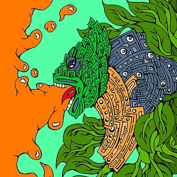 Jaguar Vomit God by napalmnacho