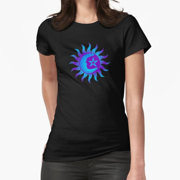 Celestial Harmony  Fitted T-Shirt
