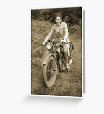 Bonnie's Bike Greeting Card