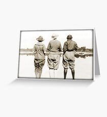 Ladies at the Lake Greeting Card