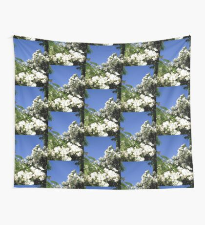 White Oleanders Wall Tapestry