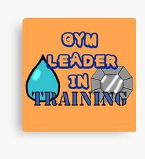 Gym Leader Canvas Print