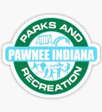 Pawnee Parks and Rec LOGO Sticker