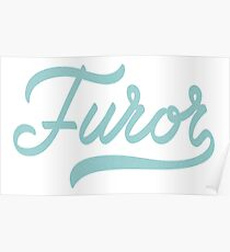 FUROR = All The Rage Poster