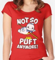 Not So Puft Anymore! Women's Fitted Scoop T-Shirt